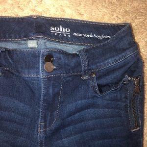 New York and Company Soho Jeans size 0